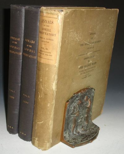 Boston/Cambridge; 1898, 1900 and 1905: Houghton, Mifflin and Co. And the University Press. First Edi...