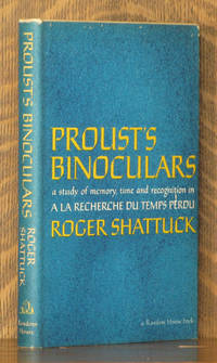 PROUST'S BINOCULARS - A STUDY OF MEMORY, TIME AND RECOGNITION IN 'A LA RECHERCHE DU TEMPS PERDU'