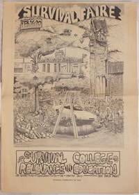 image of Survival Faire: Feb. 16-20 Survival Relevance in College Education, Monday, Feb. 16, 1970; an advertising supplement to the Spartan Daily