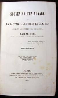 Souvenirs d'un voyage dans la Tartarie, le Thibet et la Chine pendant les années 1844, 1845 et 1846