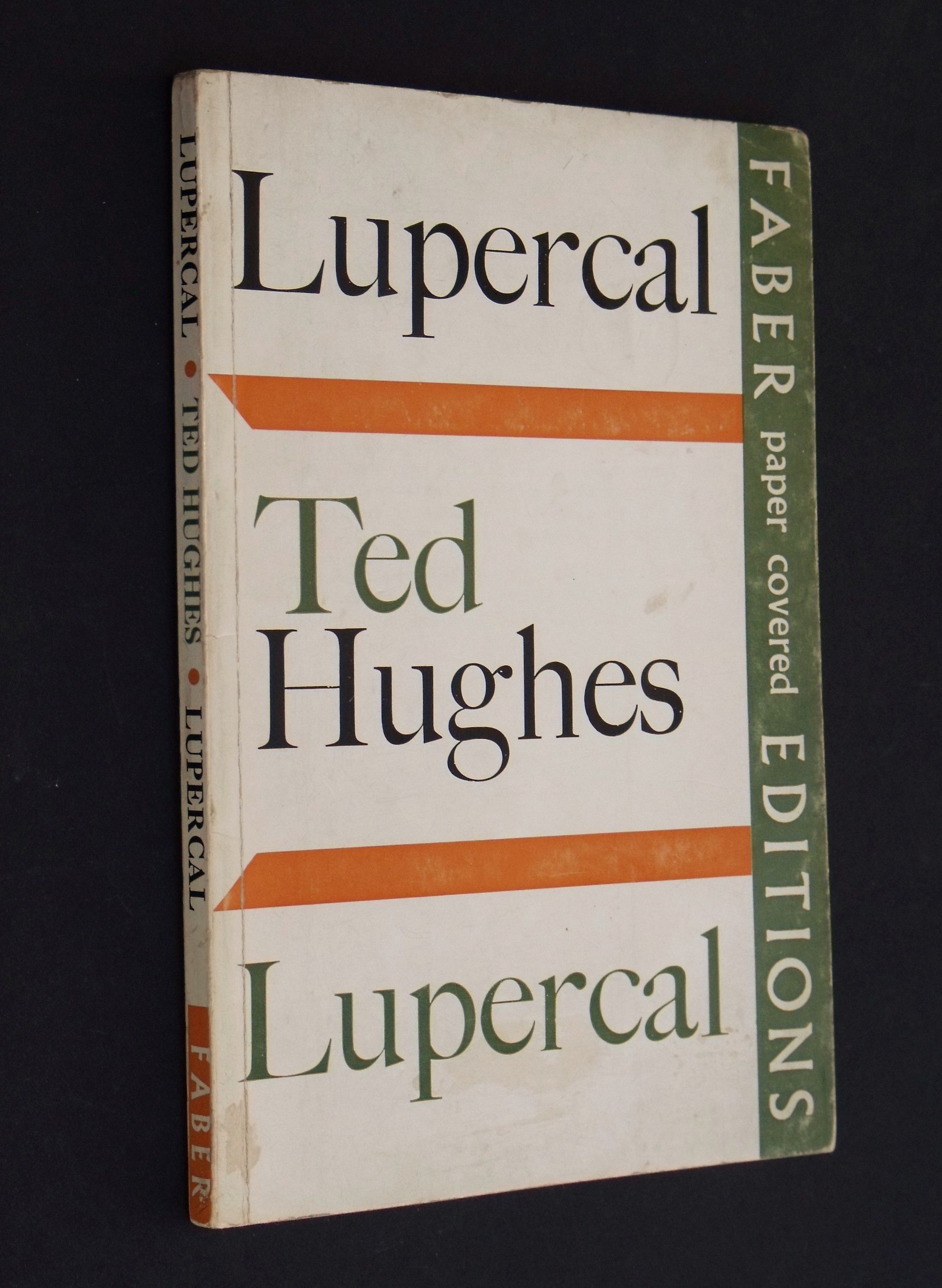 Lupercal Signed Copy By Ted Hughes 1970 border=