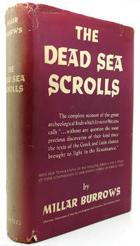 THE DEAD SEA SCROLLS by Millar Burrows - Hardcover - Eighth Printing - 1956 - from Rare Book Cellar and Biblio.com