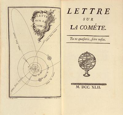 Lettre sur la comète.