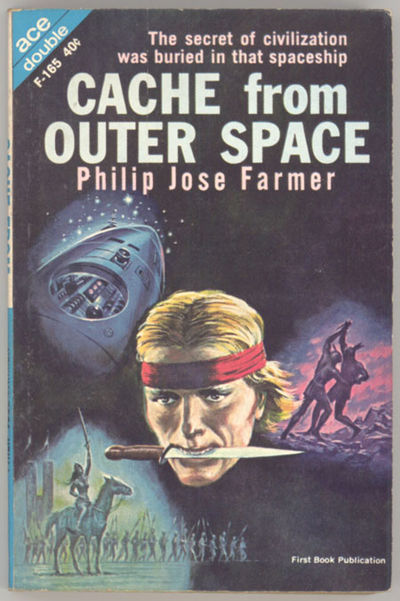 New York: Ace Books, 1962. Small octavo, pictorial wrappers. First edition. Ace Double Novel Books F...
