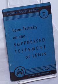 image of The suppressed testament of Lenin. with On Lenin's testament