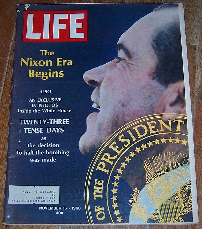 LIFE MAGAZINE NOVEMBER 15, 1968, Life Magazine