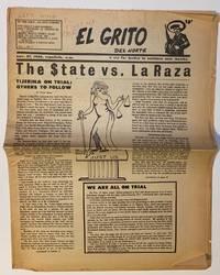 image of El Grito del Norte: a cry for justice in northern New Mexico. Vol. 1 no. 5 (Nov. 27, 1968). The $tate versus La Raza