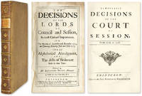 Remarkable Decisions Of The Court Of Session [and] The Decisions..