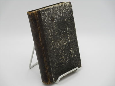 Coira. : Stamparia da Senti & Hummel., 1861. Contemporary quarter leather over mottled boards, no sp...