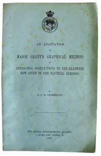 An Adaptation of Major Grant's Graphical Method of Predicting Occultations to the Elements Now Given in the Nautical Almanac