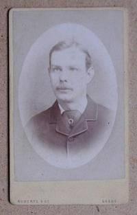 Carte De Visite Photograph: Portrait of a Young Man.