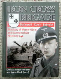 IRON CROSS BRIGADE, STALINGRAD - KURSK - BOBRUISK. THE STORY OF WERNER GOSEL AND STURMGESCHUTZ-ABTEILUNG 244