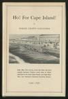 Ho! For Cape Island!