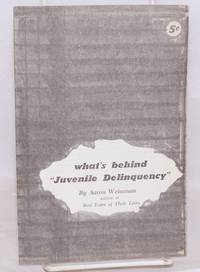 """What's behind """"juvenile delinquency"""