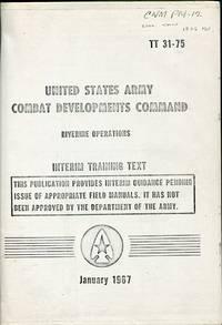 Riverine Operations: Interim Training Text (USACDC TT 31-75)