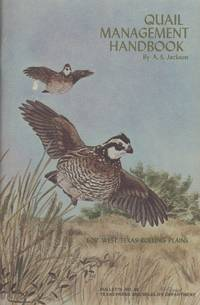 image of A Handbook for Bobwhite Quail Management in the West Texas Rolling Plains