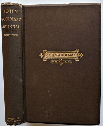Boston: Houghton, Mifflin and Company, 1880. 8vo. 175 x 120 mm., . Bound in brown publisher's cloth,...