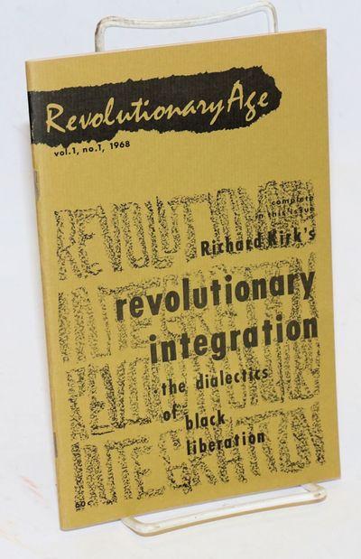Seattle: Freedom Socialist Publications, 1968. Magazine. 64p., staplebound wraps, 5.25x8.25 inches, ...