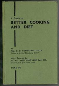 image of A Guide to Better Cooking and Diet