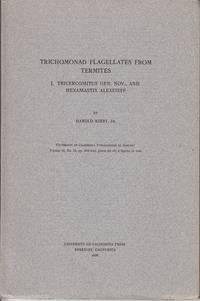 Trichomonad Flagellates From Termites.  Vol. I - Tricercomitus Gen. Nov., And Hexamastix Alexeieff.  Vol. II - Eutrichomastix, and the Subfamily Trichomonadinae - 2 Volumes