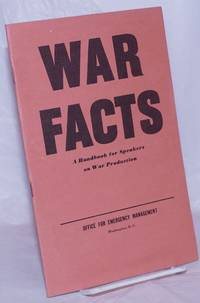 image of War Facts: A handbook for speakers on war production