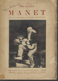 image of MANET; Avec 33 Reproductions En Phototypie