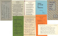[Two Pamphlets and Seven Printed Poetry Cards]