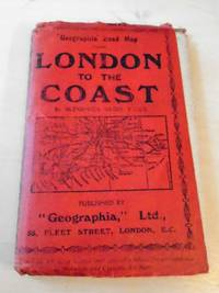 """image of Geographia"""" Road Map from London to the Coast"""