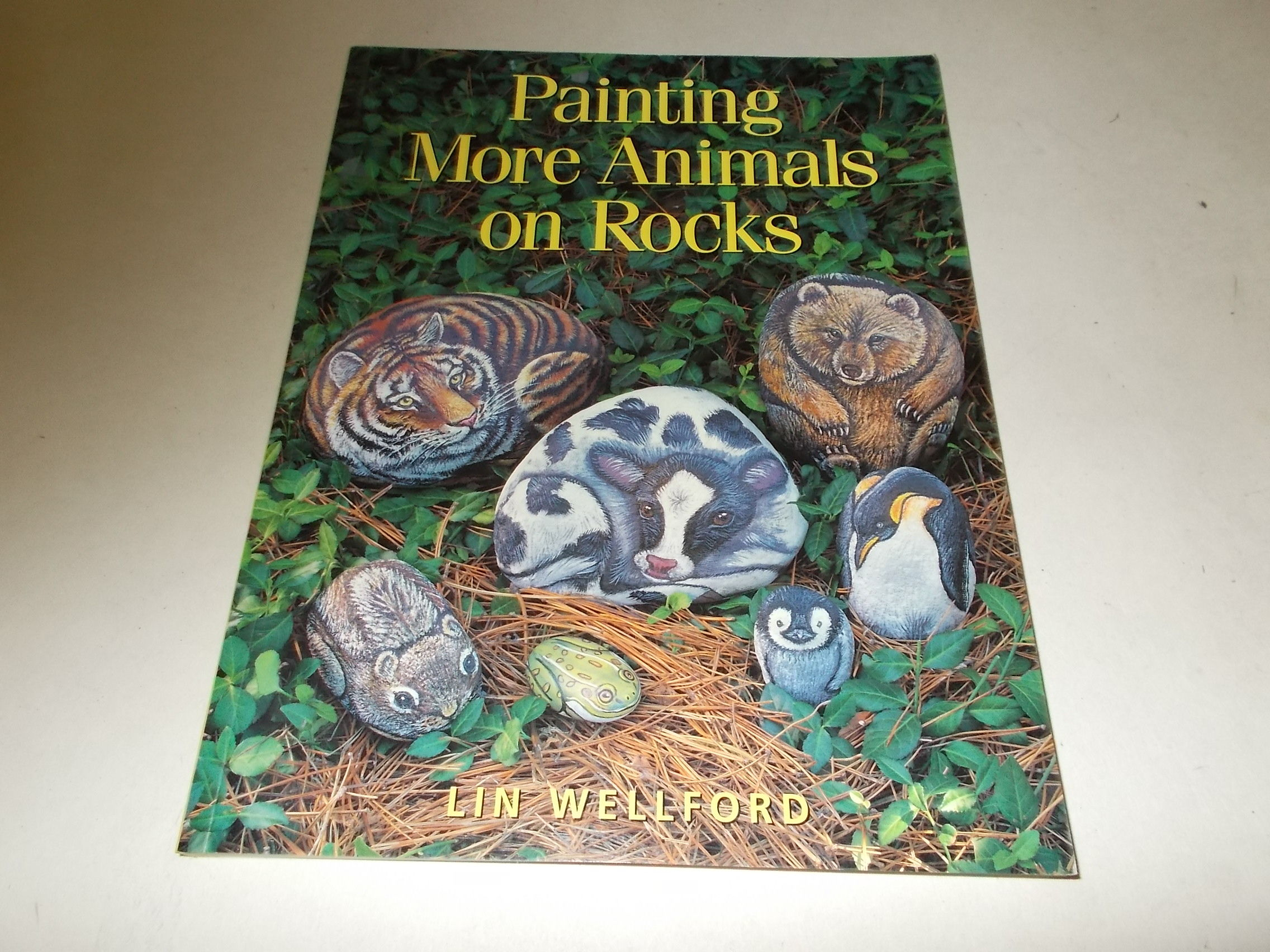 Painting More Animals on Rocks