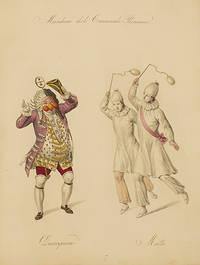 Tratatto Su La Commedia Dell'arte, Ossia Improvvisa. Maschere Italiane, Ed Alcune Scene Del Carevale Di Roma