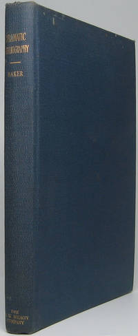 Dramatic Bibliography: An Annotated List of Books on the History and Criticism of the Drama and Stage and on the Allied Arts of the Theatre