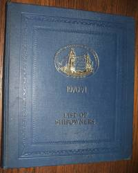 image of Lloyd's Register of Shipping List of Shipowners 1970-1971