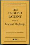 image of THE ENGLISH PATIENT: A Novel.