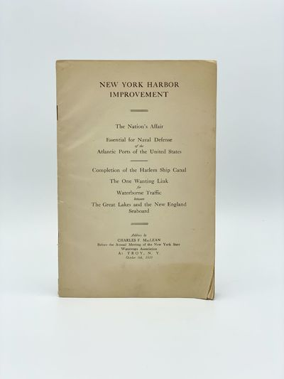 , 1916. Some chips and small losses to wrappers, tables in fine condition. 8vo. 29 pages. Three fold...
