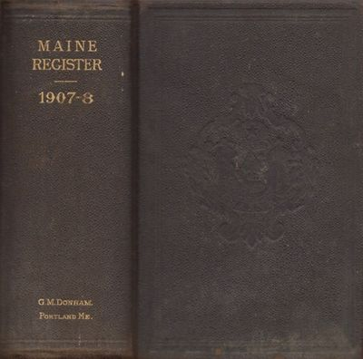 Portland: Greenville M. Dodge, 1907. First Edition. Hardcover. Good. Thick 12mo. 1040 pages, xxxix a...