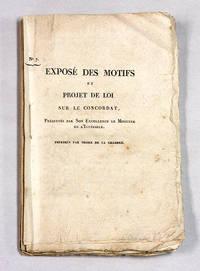 Expose Des Motifs et Project de Loi Sur Le Concordat