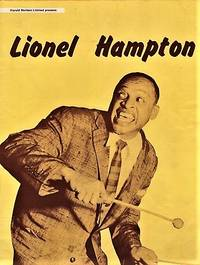 LIONEL HAMPTON AND HIS ORCHESTRA:  Presented on its First British Tour by Harold Davison Limited...Oct-Nov 1956.  Souvenir Programme