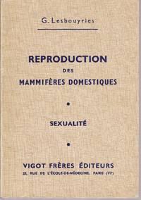 Reproduction des Mammifères domestiques - Sexualité