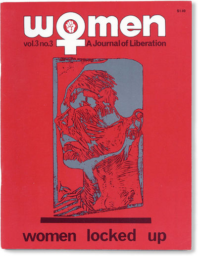 Baltimore: Women: A Journal of Liberation, 1972. First Edition. Quarto (27.75cm); illustrated card w...