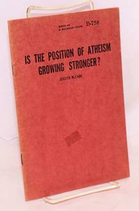 Is the position of atheism growing stronger