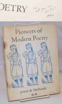 image of Pioneers of Modern Poetry [signed]