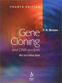 image of Gene Cloning and DNA Analysis : An Introduction