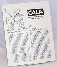 image of CALA Newsletter: March 1972