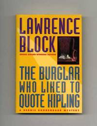 The Burglar Who Liked to Quote Kipling  - 1st Edition/1st Printing