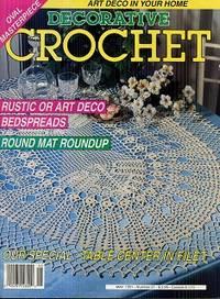 Decorative Crochet May 1991 No 21