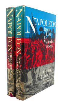 NAPOLEON :  From 18 Brumaire to Tilsit, 1799 - 1807, from Tilsit to  Waterloo, 1807 - 1815 by Georges Lefebvre - First Edition; First Printing - 1969 - from Rare Book Cellar and Biblio.com