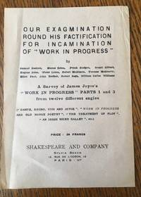 PROSPECTUS LEAF FOR; OUR EXAMINATION ROUND HIS FACTIFICATION FOR INCAMINATION OF WORK IN PROGRESS. A survey of James Joyce's