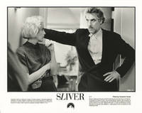 image of Sliver (Original photograph of Sharon Stone and director Phillip Noyce from the set of the 1993 film)