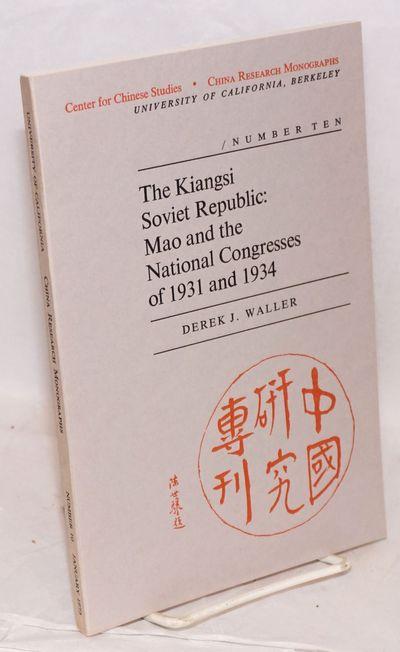 Berkeley: Center for Chinese Studies University of California, Berkeley, 1974. 116p., very good in w...