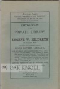Boston: C.F. Libbie, 1907. stiff paper wrappers. Hildreth, Eugene W.. 8vo. stiff paper wrappers. 144...